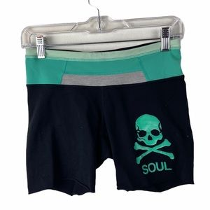 Lululemon x Soulcycle Reversible Groove Shorts